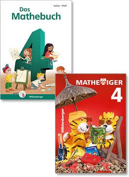"""Das Mathebuch 4"" and ""Mathetiger 4"""
