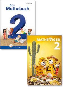 """Das Mathebuch 2"" and ""Mathetiger 2"""